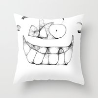 Ello governor Throw Pillow