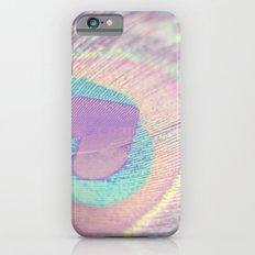 I Heart Peacocks iPhone 6s Slim Case