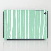 Vertical Living Mint iPad Case