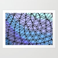 Between The Lines #2 Art Print