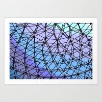 Between The Lines #2 Art Print