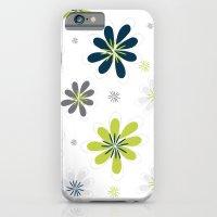 Simple Multi Flower iPhone 6 Slim Case