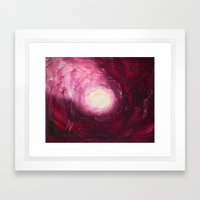 Abstract Untitled By Rob… Framed Art Print