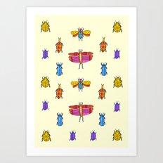 Bug Off  Art Print