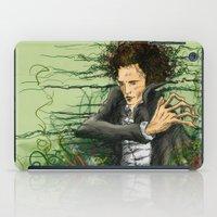 The green thumb curse I iPad Case