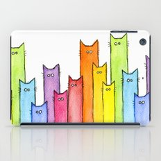 Rainbow of Cats iPad Case