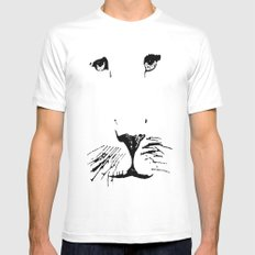 Aslan Mens Fitted Tee White SMALL