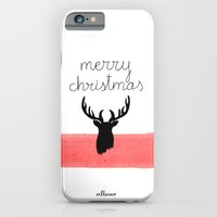 Christmas time - Deer edition iPhone 6 Slim Case