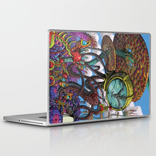 Otherworldly Ecologist Laptop & iPad Skin