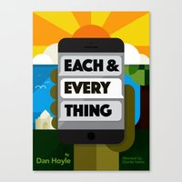 Each & Every Thing Canvas Print
