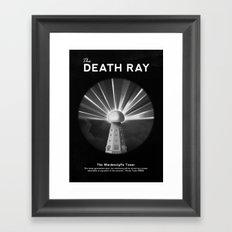 The Death Ray Framed Art Print