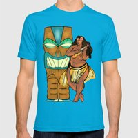 Hula Lula! Mens Fitted Tee Teal SMALL