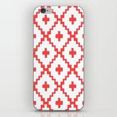Navajo Diamonds Red iPhone & iPod Skin