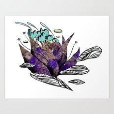 explore (thorns) Art Print