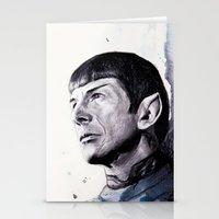 Goodbye Mr. Spock - Leon… Stationery Cards