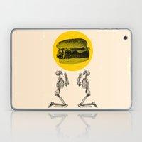 Hamburger Pray Laptop & iPad Skin
