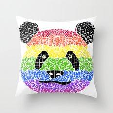 Panda Pride Throw Pillow