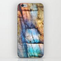Labradorite Macro iPhone & iPod Skin