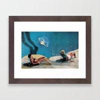 Sun Bakers Framed Art Print