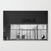 Contemplating Grace Canvas Print