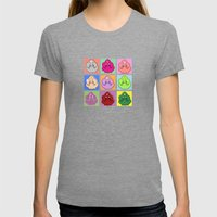Lumpy Space Prince Ala W… Womens Fitted Tee Tri-Grey SMALL