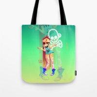 Rock girl Tote Bag