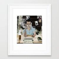 Rum Diary Framed Art Print