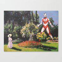 Ultra Garden Canvas Print