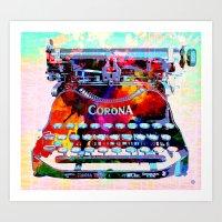 Creative Object Art Print