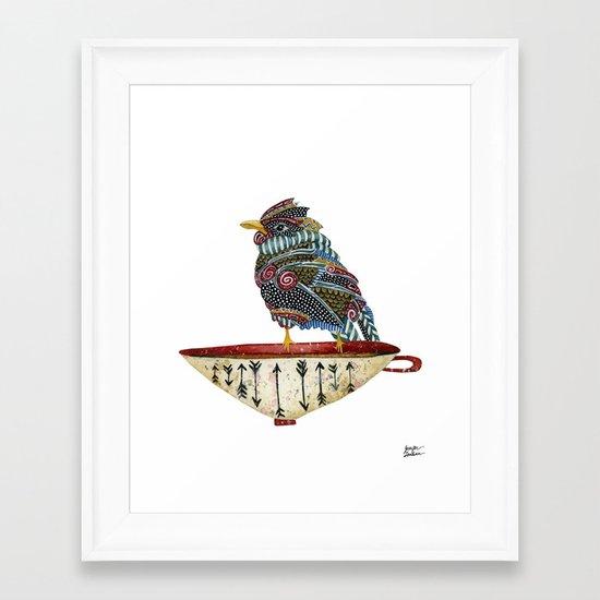 Spirit Bird Framed Art Print