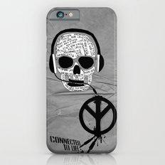 Love' skull -  a collaboration between Sam Guilhen and Gwenola de Muralt - Slim Case iPhone 6s
