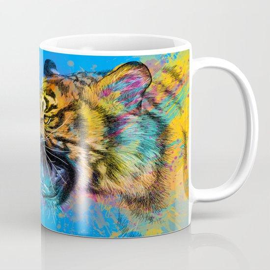 Angry Tiger Mug