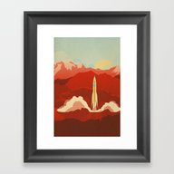 The Uncharted Framed Art Print