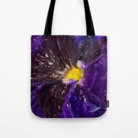 Dressed in gold and dew Tote Bag