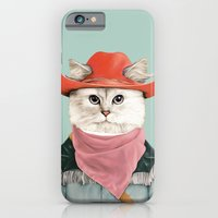 iPhone & iPod Case featuring Rodeo Cat by Animal Crew