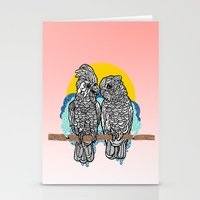 Cockatoos Stationery Cards