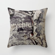 Peeling: Psychic Throw Pillow