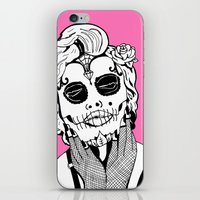 Dia De Los Marylin iPhone & iPod Skin