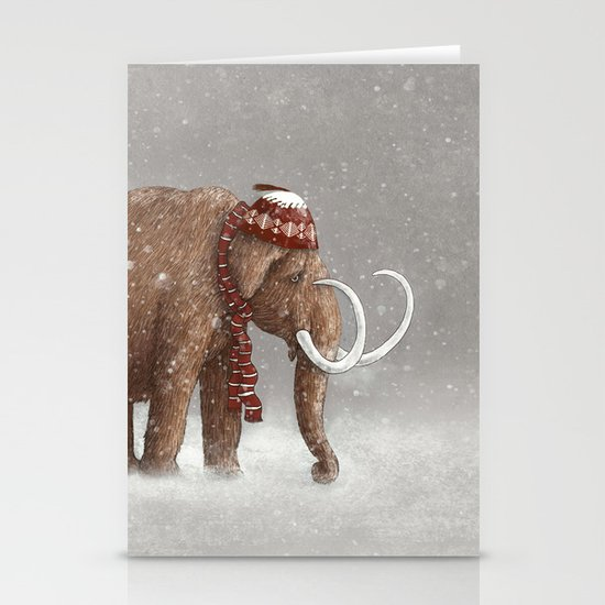The Ice Age Sucked Stationery Card