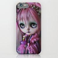 LITTLE OCTOPUS CUSTOM BLYTHE ART DOLL PINK NAVY iPhone 6 Slim Case