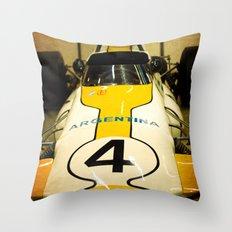 Argentina #4 Throw Pillow