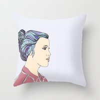 Hard For Dreamers (The St. Aurora) Throw Pillow