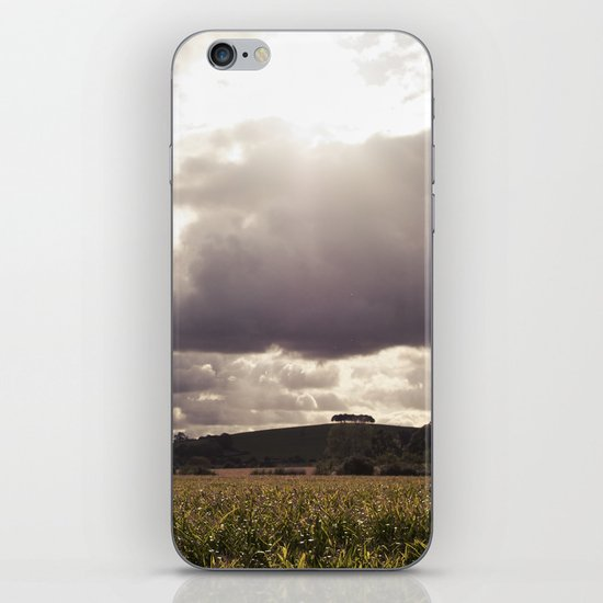 shine forth upon our clouded hills... iPhone & iPod Skin