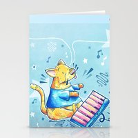 Keyboard Cat Says Thank You Stationery Cards