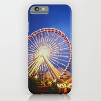 iPhone & iPod Case featuring Farris Wheel by Heather Lockwood
