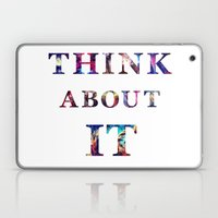Space: Think About It Laptop & iPad Skin