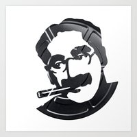 Groucho Marx Art Print