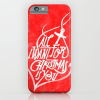 iPhone & iPod Case featuring All I want for Christmas is you! by Andrei Robu