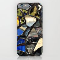 iPhone & iPod Case featuring Closeup (PHOTO) of a Glass Mosaic by Around the Island (Robin Epstein)
