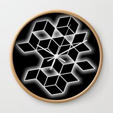 Black & White Glow Wall Clock